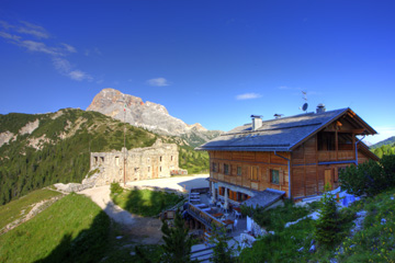 Vallandro hut